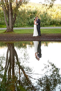 Rachel's Pond at Alyson's Orchard Weddings