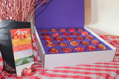 Gift Box of Fresh Apples Shipping To You!
