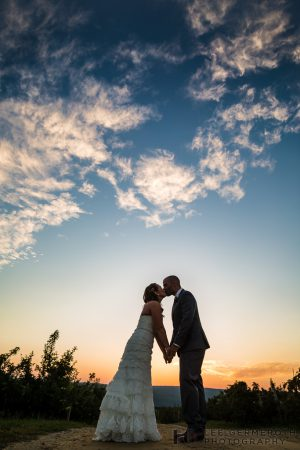 Sunset Sunday Wedding